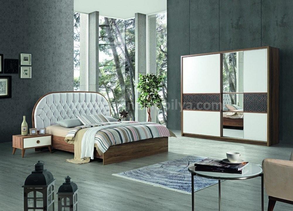 Alaturca Yatak Odası Sedef-Krem