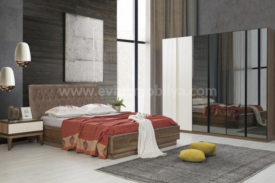 Life Beyaz Yatak Odası