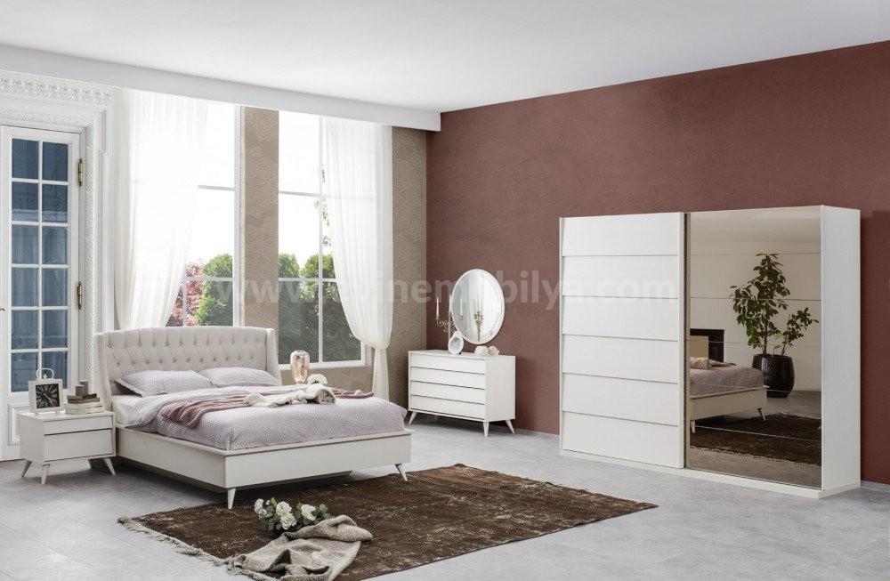Luna Yatak Odası Beyaz