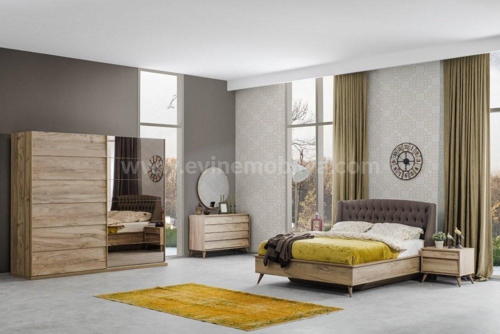 Luna Yatak Odası Ceviz
